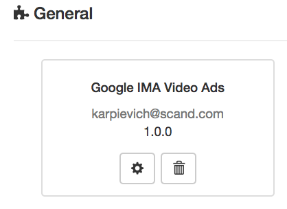 Google IMA Video Ads – Applicaster Support