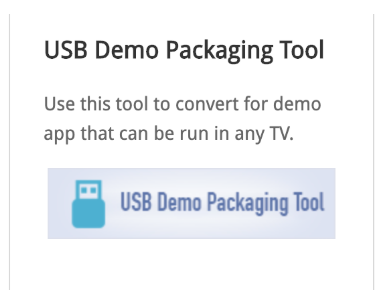 Installing an App in demo mode on Samsung Tizen TV